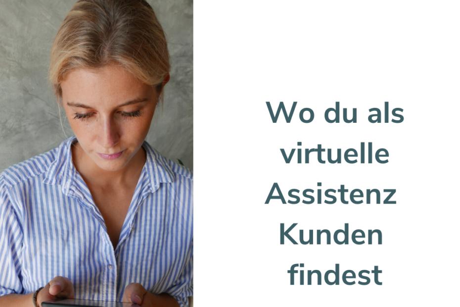 Wo du als virtuelle Assistenz Kunden findest Franziska Uber